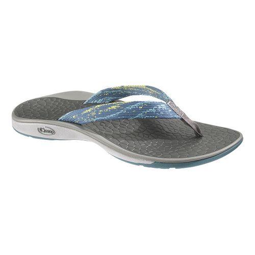 Womens Chaco Fathom Sandals Shoe - Tidal Wave 5