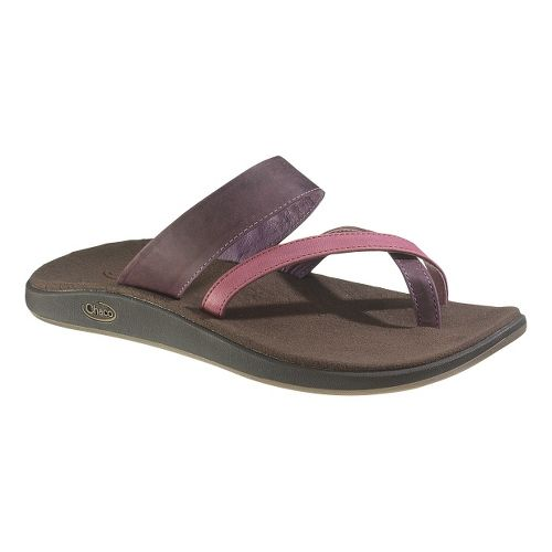 Womens Chaco Stowe Sandals Shoe - Beet Red 5
