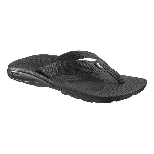 Mens Chaco Flip Vibe Sandals Shoe - Black 15