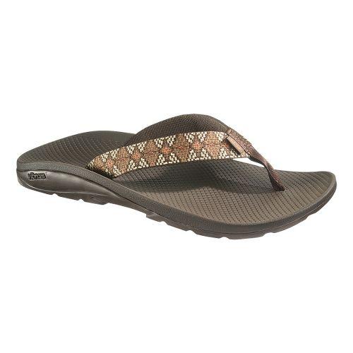 Mens Chaco Flip Vibe Sandals Shoe - Diamond Eyes Dash 15