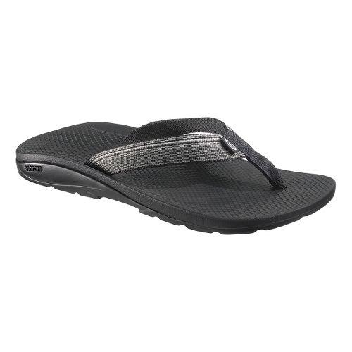 Mens Chaco Flip Vibe Sandals Shoe - Ridgeline Grey 14