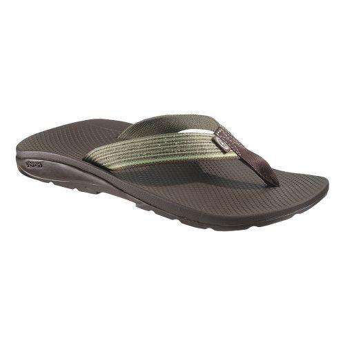 Mens Chaco Flip Vibe Sandals Shoe - Shoal 10