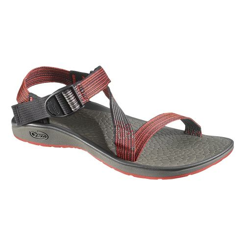 Mens Chaco Mighty Sandals Shoe - Deep Dive Red 14