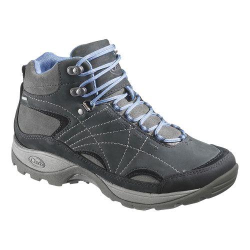 Womens Chaco Azula Mid Waterproof Hiking Shoe - Black 7.5