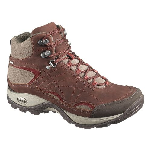 Womens Chaco Azula Mid Waterproof Hiking Shoe - Cabernet 10