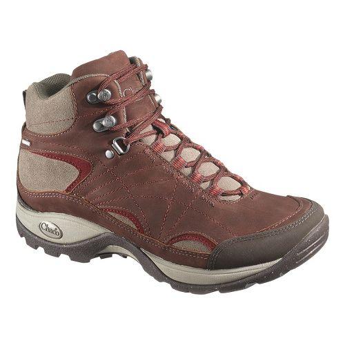 Womens Chaco Azula Mid Waterproof Hiking Shoe - Cabernet 8.5