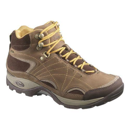 Womens Chaco Azula Mid Waterproof Hiking Shoe - Chocolate Chip 7.5