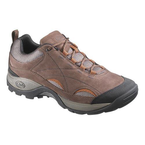 Mens Chaco Hinterland Mesh Hiking Shoe - Chocolate Brown 11