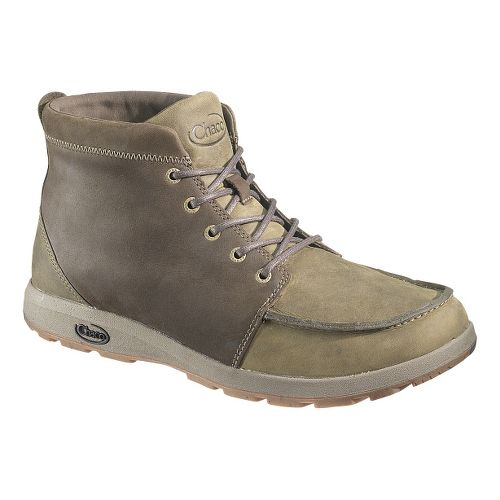 Mens Chaco Brio Casual Shoe - Dark Olive/Wren 9