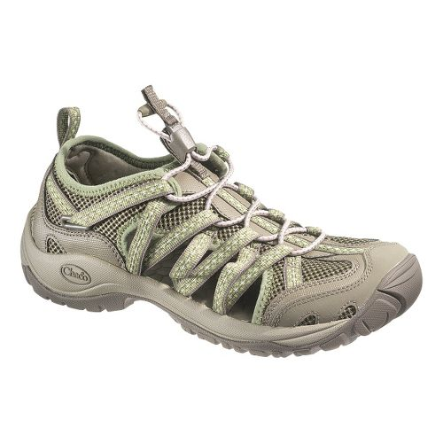 Womens Chaco OutCross Lace Trail Running Shoe - Fern 5