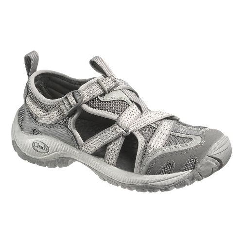 Womens Chaco OutCross Web Trail Running Shoe - Steel 7.5