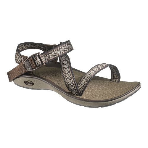 Womens Chaco Mystic Sandals Shoe - Flagged 6