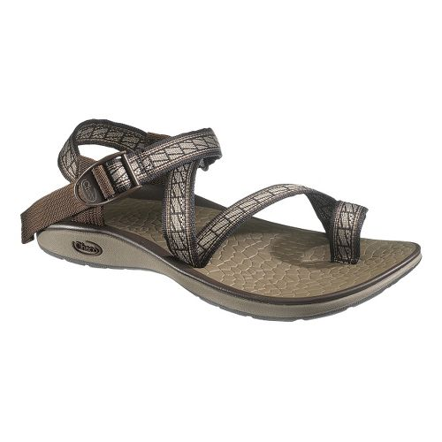Womens Chaco Royal Sandals Shoe - Flagged 10
