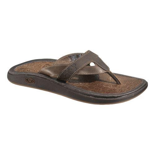 Womens Chaco Palma Flip Sandals Shoe - Chocolate Brown 7