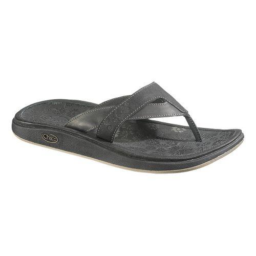 Womens Chaco Palma Flip Sandals Shoe - Raven 5
