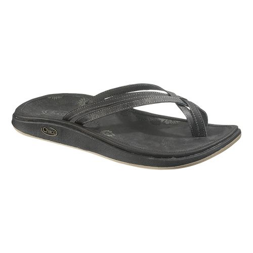 Womens Chaco Addison Flip Sandals Shoe - Raven 11