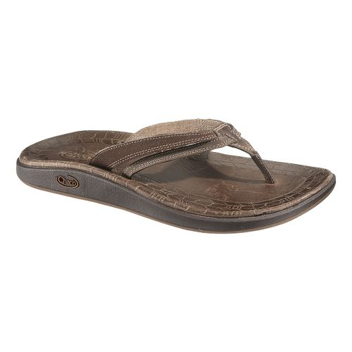 Womens Chaco Harper Flip Sandals Shoe - Chocolate Brown 5
