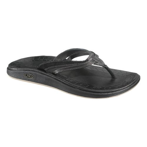 Womens Chaco Harper Flip Sandals Shoe - Raven 8
