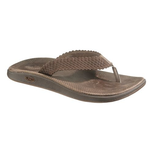 Womens Chaco Liberty Flip Sandals Shoe - Chocolate Brown 5