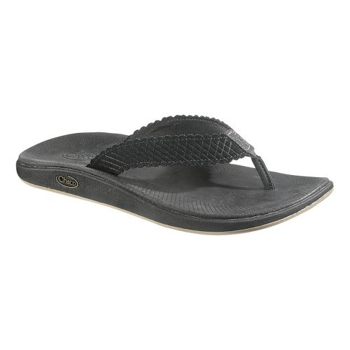 Womens Chaco Liberty Flip Sandals Shoe - Raven 10
