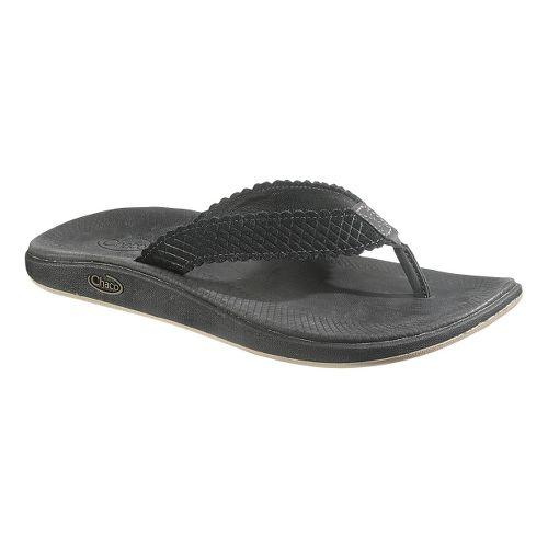Womens Chaco Liberty Flip Sandals Shoe - Raven 8