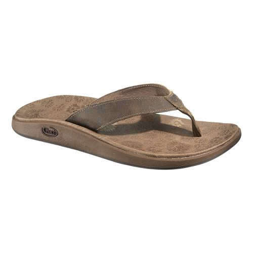 Womens Chaco Jacy Flip Sandals Shoe - Incense 10