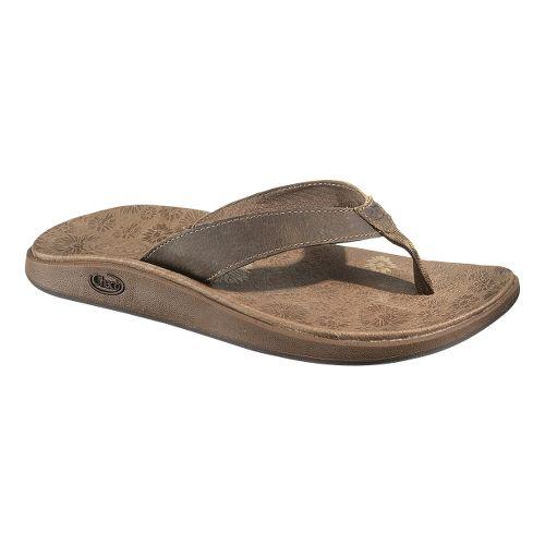 Womens Chaco Jacy Flip Sandals Shoe - Incense 5
