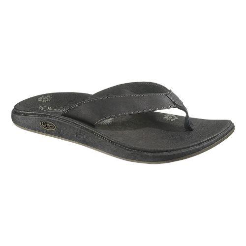 Womens Chaco Jacy Flip Sandals Shoe - Raven 10