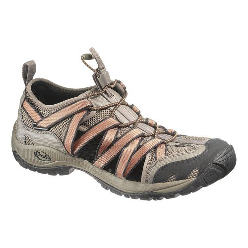 Mens Chaco OutCross Lace Trail Running Shoe - Chocolate Brown 10