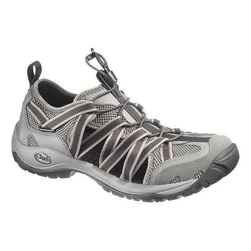 Mens Chaco OutCross Lace Trail Running Shoe - Gunmetal 11.5