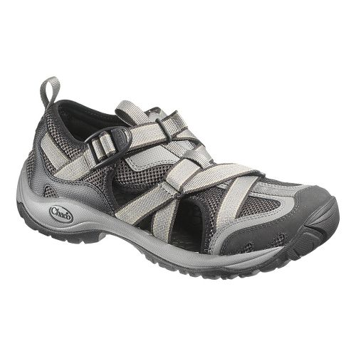 Mens Chaco OutCross Web Trail Running Shoe - Gunmetal 9