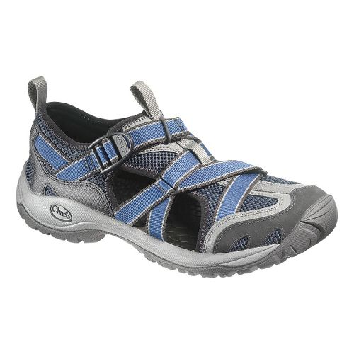 Mens Chaco OutCross Web Trail Running Shoe - Steel 10
