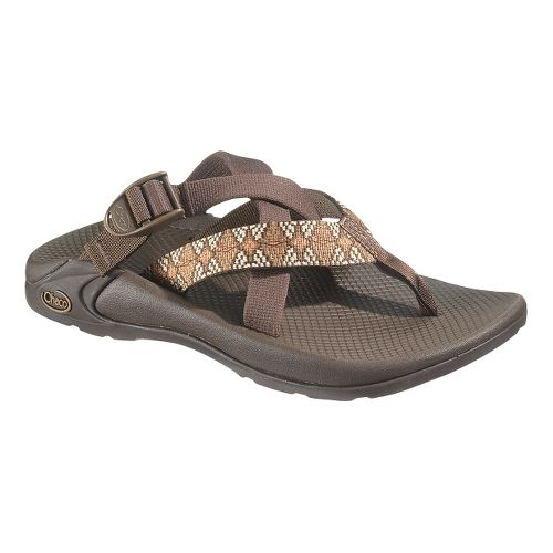 Mens Chaco Hipthong Two Sandals Shoe - Diamond Eyes Dash 15