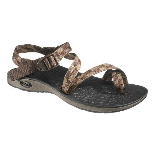 Mens Chaco Rex Sandals Shoe - Strand Brown 12
