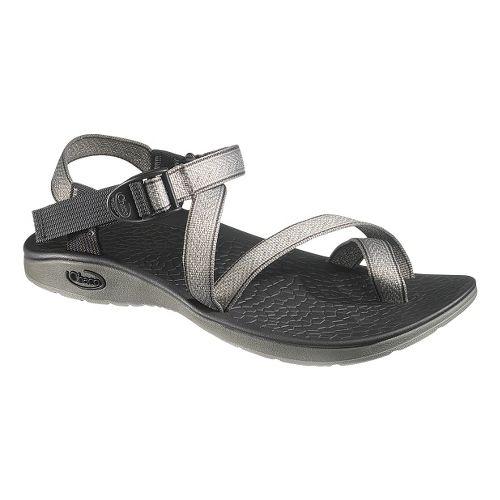Mens Chaco Rex Sandals Shoe - Tracks Grey 14
