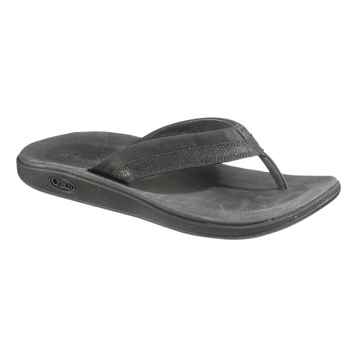 Mens Chaco Kellen Flip Sandals Shoe - Black 8