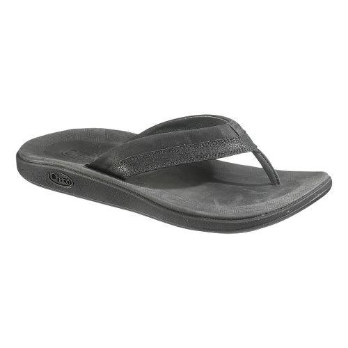 Mens Chaco Kellen Flip Sandals Shoe - Black 9