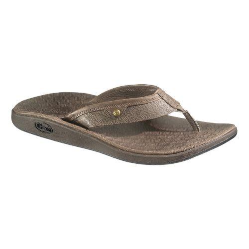 Mens Chaco Corbin Flip Sandals Shoe - Chocolate Brown 9