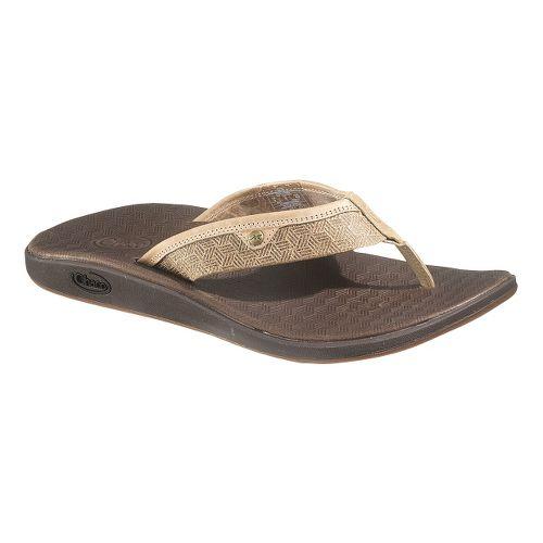 Mens Chaco Corbin Flip Sandals Shoe - Otter 12