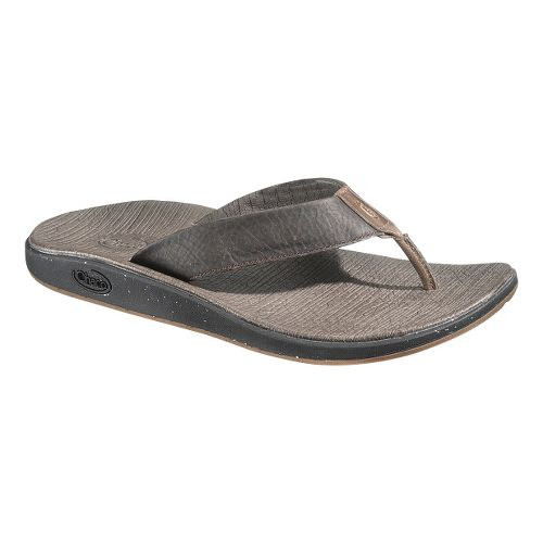 Mens Chaco Nikolai Flip Sandals Shoe - Chocolate Brown 12