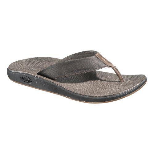 Mens Chaco Nikolai Flip Sandals Shoe - Chocolate Brown 7