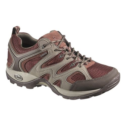 Womens Chaco Layna Waterproof Hiking Shoe - Cabernet 7.5