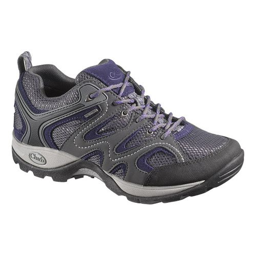 Womens Chaco Layna Waterproof Hiking Shoe - Dark Shadow 5.5