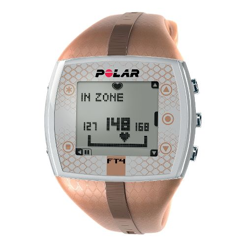 Womens Polar FT4 Heart Rate Monitor Monitors - Bronze