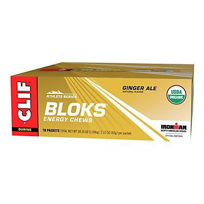 Clif Bloks 18 pack Chews Nutrition