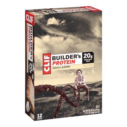 Clif Builders Bar 12 count Nutrition - null