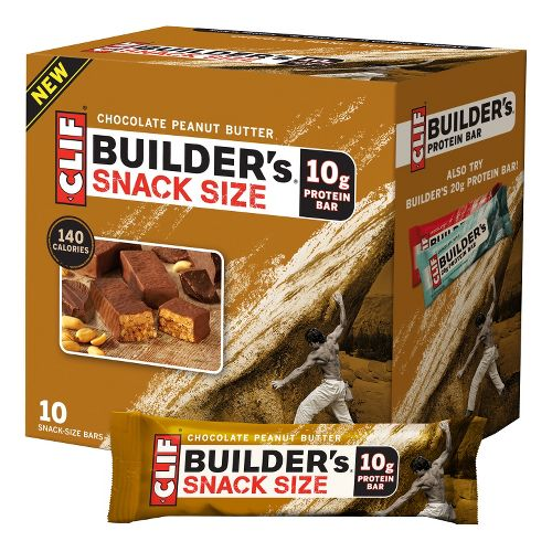 Clif Builder's Bar Snack Size 10 count Nutrition - null