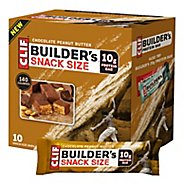 Clif Builder's Bar Snack Size 10 count Nutrition