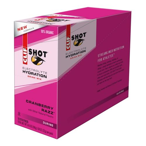 Clif Shot Electrolyte Hydration Drink 18 count Box Nutrition - null