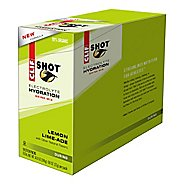 Clif Shot Electrolyte Hydration Drink 18 count Box Nutrition